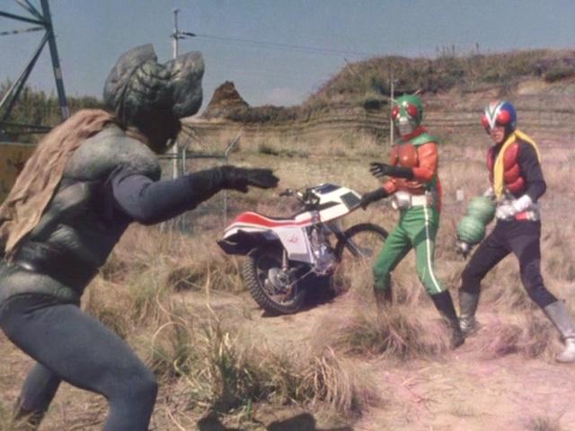 Hello! Riderman, be Careful of Nezura Man