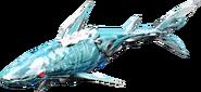 KR01-Biting Shark Rider Model