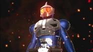 Kamen Rider Accel Trial form in Kamen Rider Battride War Genesis