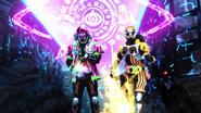 Omega Drive (Ex-Aid) & Kaigan Critical Strike (Prelude)