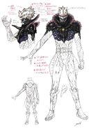 Eiji Greeed concept art