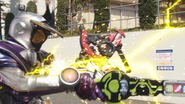 Zi-O 3 Riders Kick Step 1