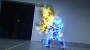 Lock Mega Slash + Cross-Z Dragon Let's Break Step 1