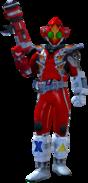 Kamen Rider Fourze Fire States in City Wars