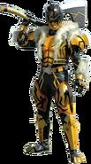 Kintaros wielding the Kintaros Ax