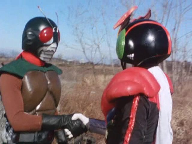 Enter Stronger; Two Riders vs. Two Formidable Monsters