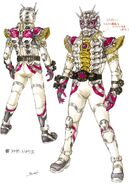 Another Zi-O II concept art