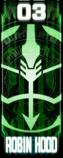 KRGh-Robin Ghost Eyecon (Top Sticker)