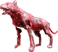 KR01-Flaming Tiger Rider Model
