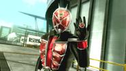Kamen Rider Wizard intro in Battride War Genesis