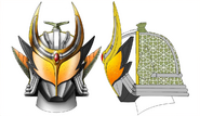 Barilon Kabuto & Steering Eye concept art