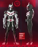 Kamen Rider Ark-One Concept Art