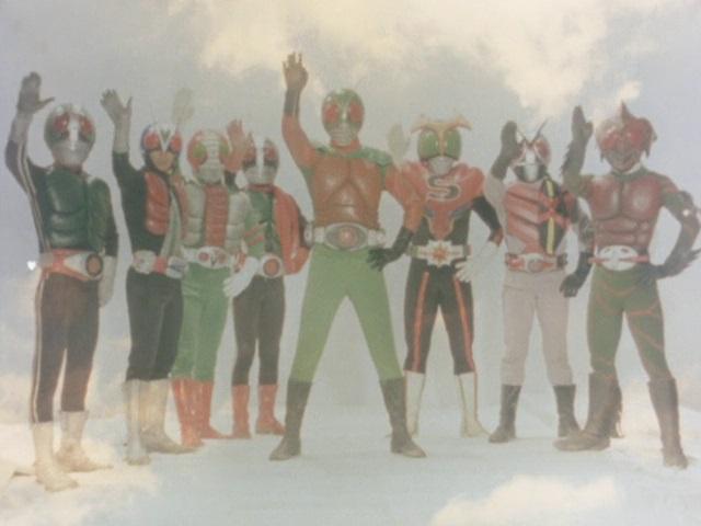 Farewell, Hiroshi Tsukuba! Eight Heroes Forever....