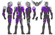 Mashin Chaser Concept Art