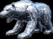 KR01-Freezing Bear Rider Model