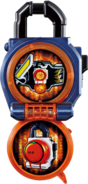KRGa-Gaim Lockseed Opened