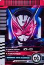 KRDCD-KamenRide Zi-O Rider Card