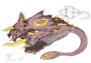 Big Triceratops concept art