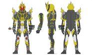 Kamen Rider Necrom Yujou Burst damashi concept art