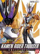 Kamen Rider Thouser Spelling