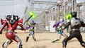 Ninja Art Time Binding Attack + Time Burst Step 1
