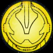 KRGh-Dark Necrom Yellow Ghost Eyecon (Transformation Time)