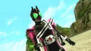 Kamen Rider Decade intro in Battride War Genesis