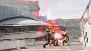 Castle Scrap Break + Fukurou Kuwagata Twin Break Ver 2 Step 1