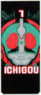 KRGh-Kamen Rider 45 Ghost Eyecon (Ichigou Top Sticker)