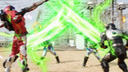 Ninja Art Time Binding Attack + Time Burst Step 2