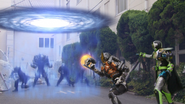 Ichigeki Time Burst + Chou Ginga Explosion Step 1