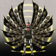 Kamen Rider Extremer with Triscendence Wing concept art