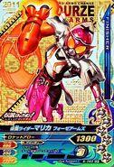 Kamen Rider Marika Fourze Arms Ganbarizing Card