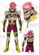 Another Ex-Aid concept art