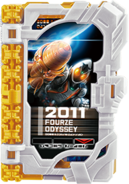 KRSa-2011 Fourze Odyssey Wonder Ride Book