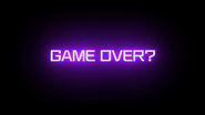 Game Over Endscreen