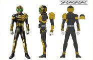 Kamen rider Beast concept art