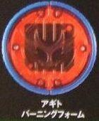 Agito Burning Form Medal