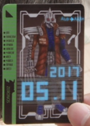 KRDO-Mole Imagin Rider Ticket (Zi-O)