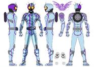 Kamen Rider Chaser concept art