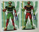Kuuga Dragon Form Early Design