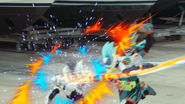 GKS Blade attack