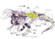 Big T-Rex concept art
