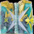 KRSa-Kin no Buki Gin no Buki Wonder Ride Book (Transformation Page)