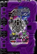 KRSa-MetsubouJinrai Monsters Wonder Ride Book