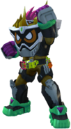 Kamen Rider Ex-Aid Maximum Mighty X in City Wars