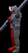 Kamen Rider W HeatMetal in City Wars