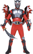 KRRy-Ryuki (Armed with Dragsaber & Dragshields)