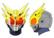 Kamen Rider Meteor Storm Profile concept art