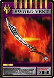 KRRy-Sword Vent Card (Ryuki)